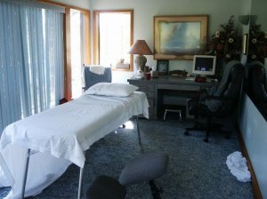 sedona John's treatment room